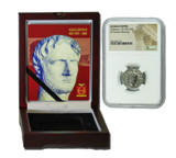 Genuine Gallienus Roman Silver Antoninianus NGC Certified Slab Box (Low grade) : Authentic Artifact - Museum Company Photo