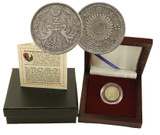 Genuine Imperial Japan: Box of Silver Japanese Coin : Authentic Artifact - Museum Company Photo