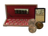 Genuine The Decline and Fall of the Roman Empire: Box of 20 Bronze Coins of Ancient Rome  : Authentic Artifact - Museum Company Photo