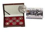 Genuine The Legacy of Alexander the Great: A History in 8 Silver Coins of the Greek World Box  : Authentic Artifact - Museum Company Photo
