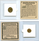 Genuine Urbs Roma Commemorative Coin Mini (C) : Authentic Artifact - Museum Company Photo