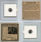 Genuine Widow's Mite Bronze Lepton Coin Mini : Authentic Artifact - Museum Company Photo