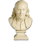 Benjamin Franklin Bust by Houdon - Museum Replica Collection Photo