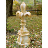 Fleur De Lis Monticello Statue - Museum Replicas Collection Photo