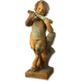 English Garden Pan Statue - Museum Replica Collection Photo