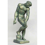 Adam By Auguste Rodin Statue - Museum Replicas Collection Photo