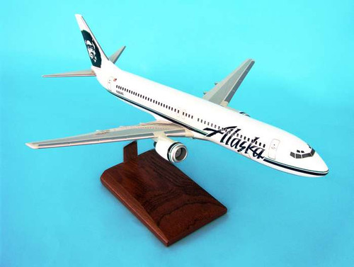 Alaska B737-900  1/100  - Alaska Airlines (USA) - Museum Company Photo