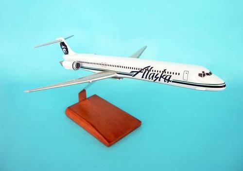Alaska MD-80 1/100  - Alaska Airlines (USA) - Museum Company Photo