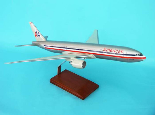 American 777-200 1/100 Old Livery  - American Airlines (USA) - Museum Company Photo