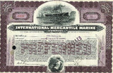 Original Titanic Stock Certificate - FRAMED - Photo Museum Store Company