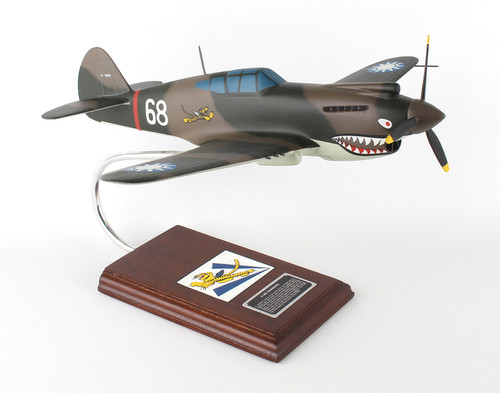 P-40b Warhawk 1/24 #68  - United States Air Force (USA) - Museum Company Photo