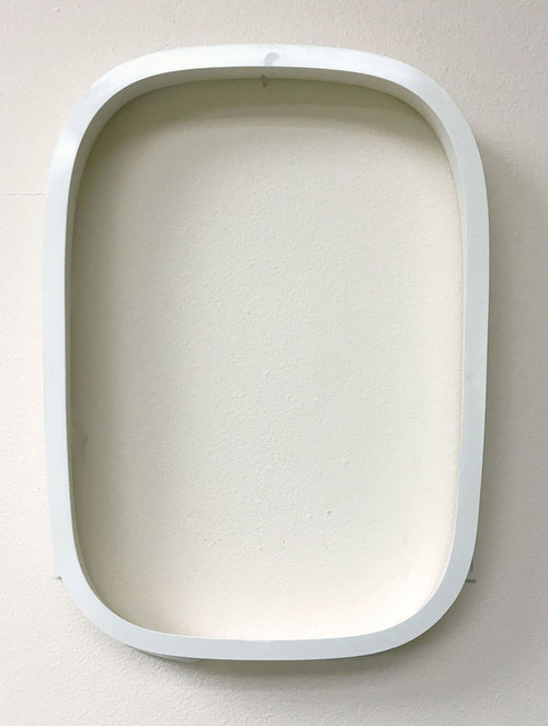 747 Airplane Window Assembly Airframe Portion  (Outside Looking In) - Air & Space Collection - Museum Store Company Photo