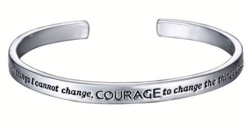Museum Company Serenity Prayer Bracelet - Inspirational Jewelry - Museum Store Company Photo
