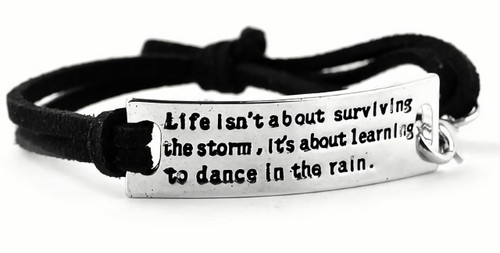 Museum Company Surviving the Storm, Dancing in the Rain Bracelet - Museum Store Company Photo