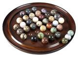 Solitaire Game, Semi-Precious Stones - Historic & Museum Store Game Classics - Photo Museum Store Company