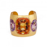 Citrine and Amethyst Cuff - Museum Jewelry - Museum Company Photo