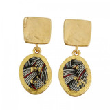 Braided Double Drop Earrings - Museum Jewelry - Museum Company Photo