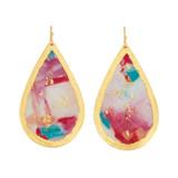 Bermuda Teardrop Earrings - Museum Jewelry - Museum Company Photo