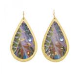 Birds of a Feather Teardrop Earrings - Museum Jewelry - Museum Company Photo