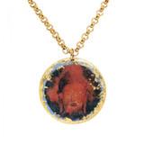 Buddha Blue Pendant - Museum Jewelry - Museum Company Photo