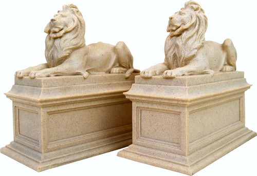 New York Public Library Lions Bookends, Edward Clark Potter (1857-1923) - NYPL - Photo Museum Store Company