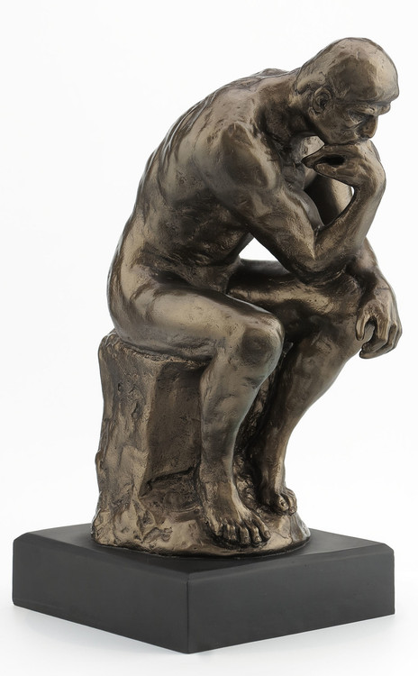 The Thinker, by August Rodin (French, 1840-1917), The Baltimore Museum of Art - Photo Museum Store Company