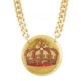 French Crown Pendant - Large - Museum Jewelry - Museum Company Photo