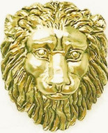 Lion Head Brooch, from pair of bronze mounts designed by Andrei Voronikhin ca. 1804, - Photo Museum Store Company