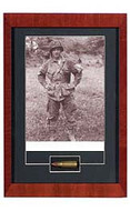 Band of Brothers with Relic Signed by Forrest Goody Guth - Autographed Photo - Photo Museum Store Company