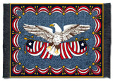 LIBERTY Design from Spirit of America Collection: Americana - Travel - Claire Murray MouseRug - Photo Museum Store Compa