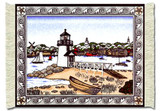 Brant Point Lighthouse: Americana - Travel Miniature Rug & Mouse Pads - Claire Murray MouseRug - Photo Museum Store Comp