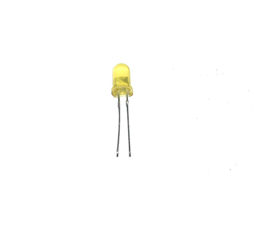Basic LED - Yellow Emits Yellow Light (5mm)