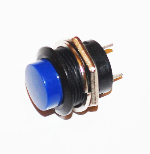 Blue Momentary Push-Button ON OFF Switch R13-507