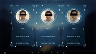 Visitor Welcome System Based on Face Recognition