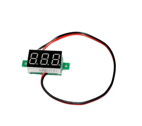 Mini 2-wire Volt Meter (2.5 - 30 VDC)