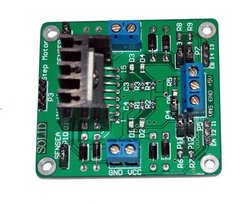DC Motor Driver Breakout (L298 Chipset)