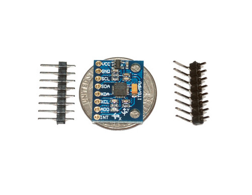 MPU6050 Six-Axis (Gyro + Accelerometer) MEMS Breakout