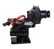 Fixture for servos of webcam used for Robotics