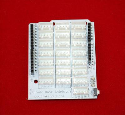 Base Shield of Linker Kit for pcDuino/Arduino