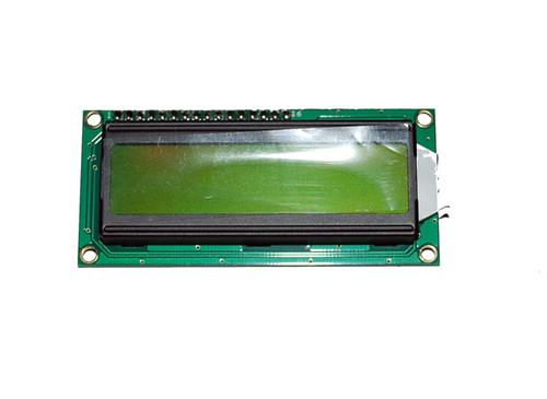 I2C Basic 16x2 Character LCD - Black on Green 5V