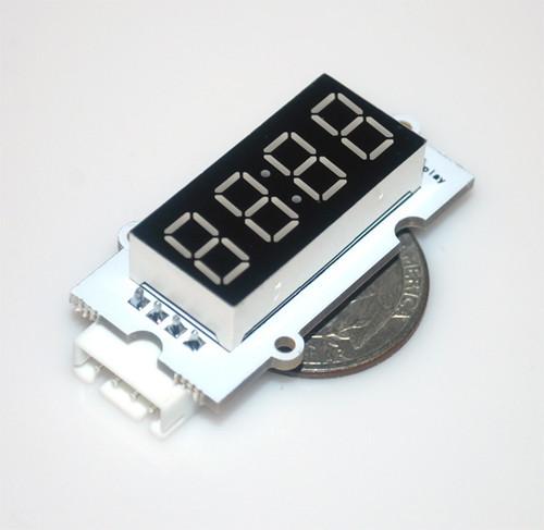 4-Digit 7-Segment Module of Linker Kit for pcDuino/Arduino