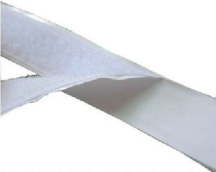 "A Pair of White Adhensive Hook and Loop Tape 1"" Wide 1' Long"