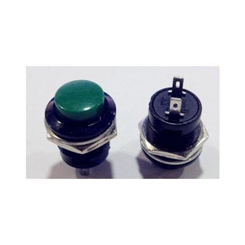 Green Momentary Push-Button ON OFF Switch R13-507