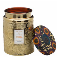 This inspirational candle scent features sublime notes of Bird of Paradise nectar, juicy ripe grapefruit and fragrant geranium.