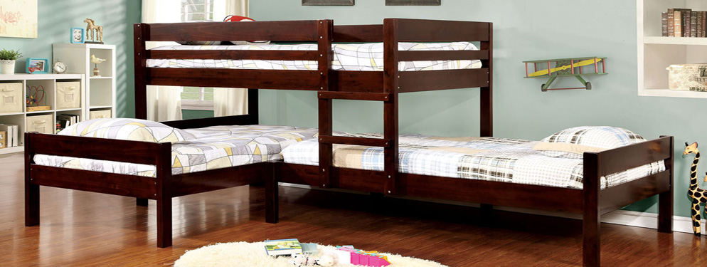 Chadwick Twin Full Bunk Bed Rustic Bunk Beds For Sale