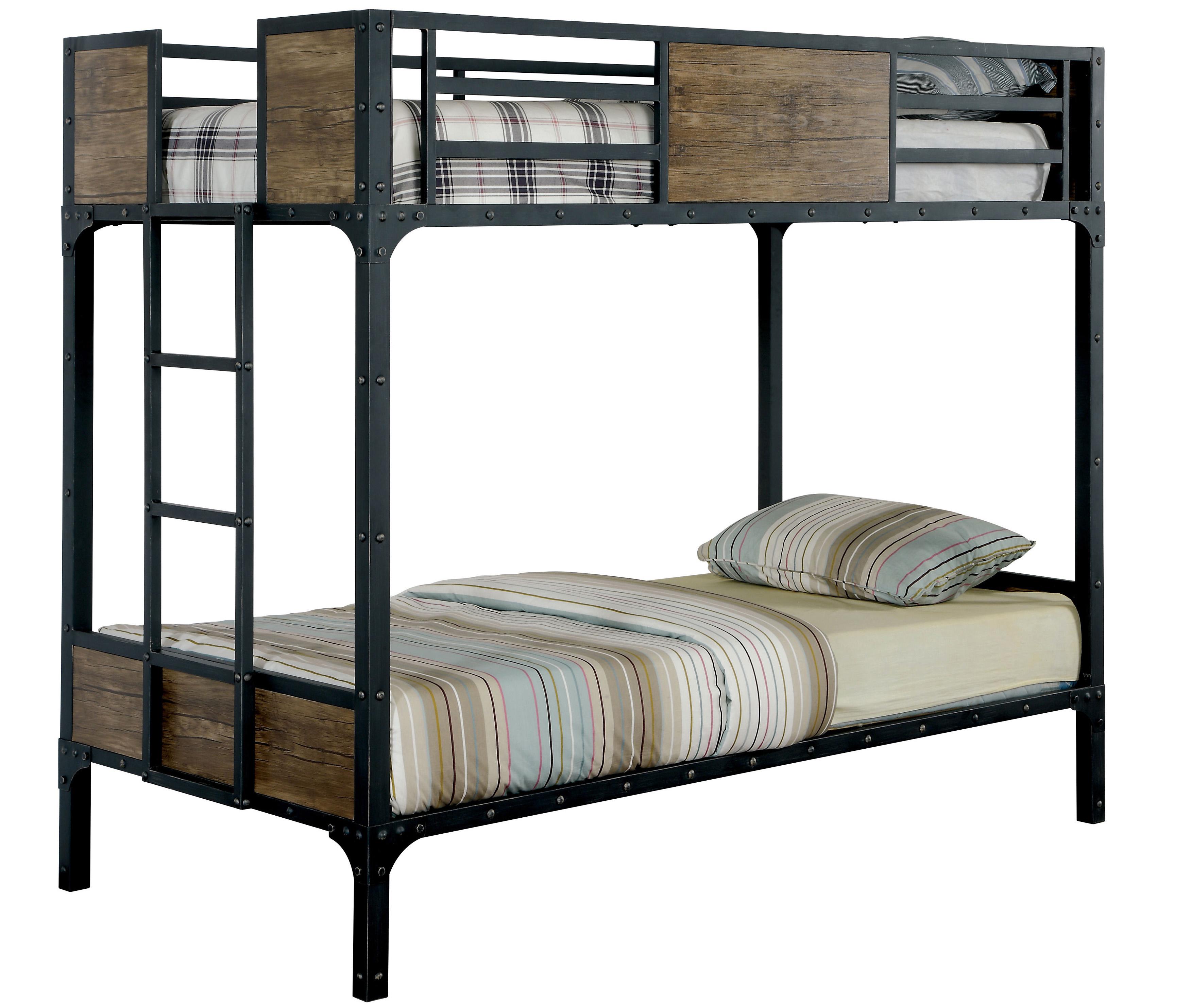 Cheap Twin Metal Bunk Bed