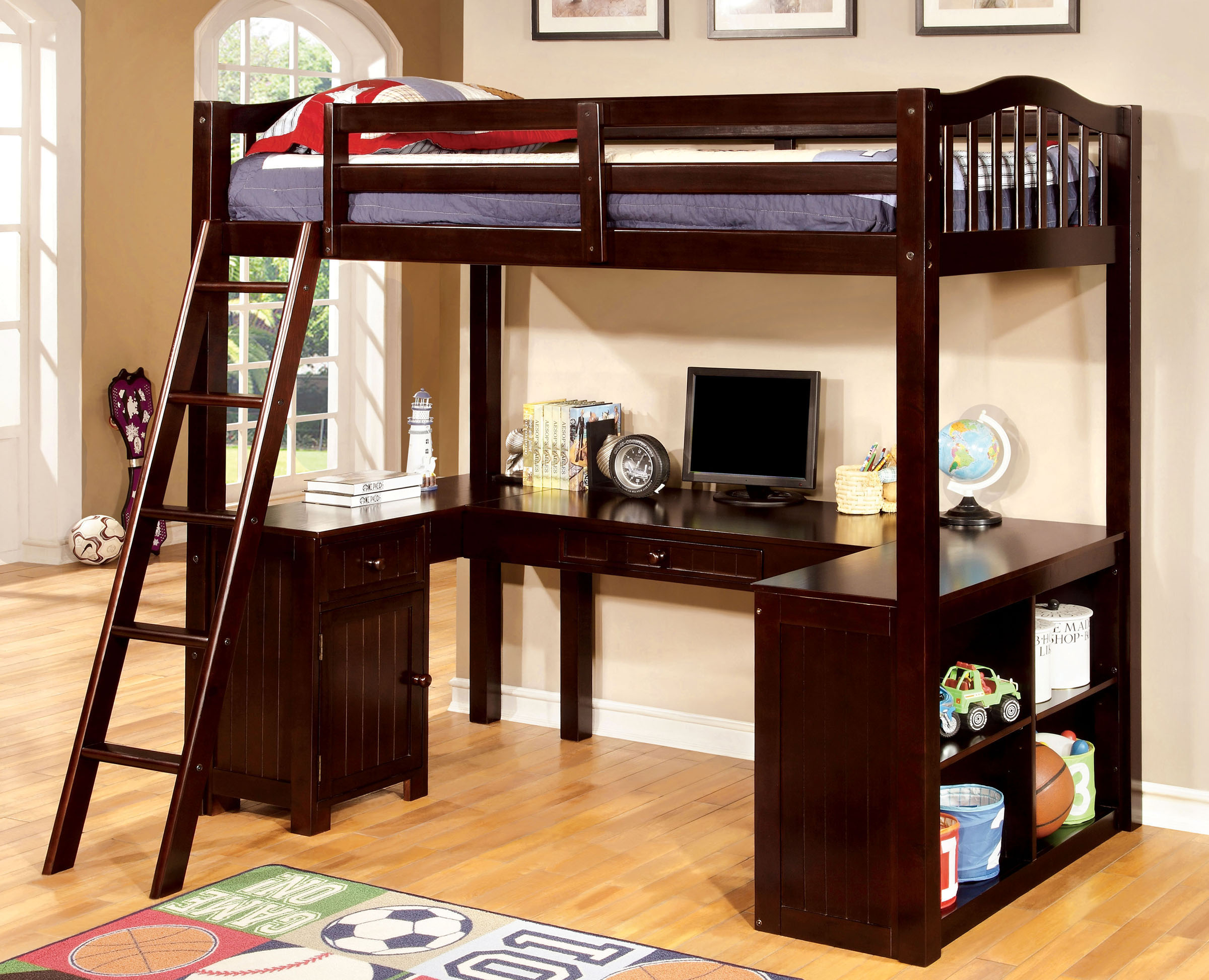 Bunk beds loft beds back to school basics Bedroom furniture for college students