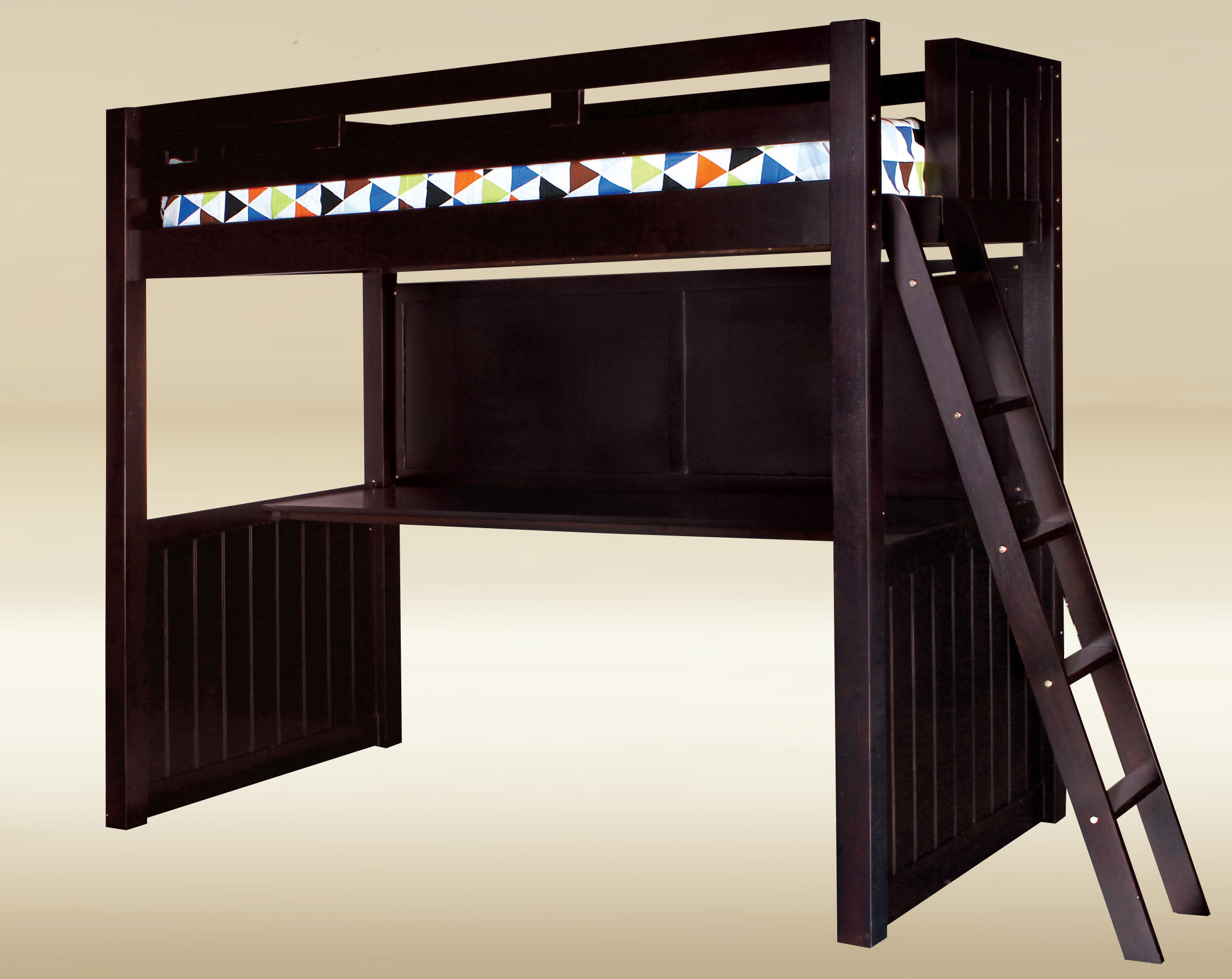 Full Loft Bed with Workstation