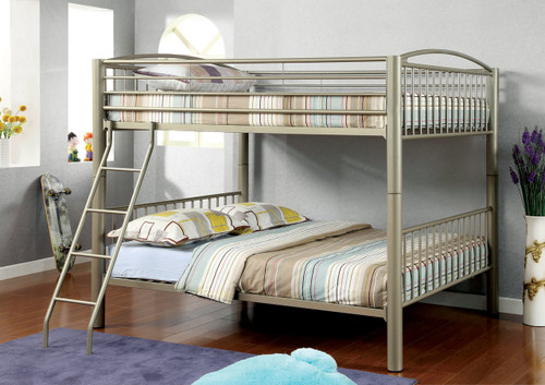 Convertible Full Size Metal Bunk Bed