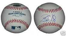 Brandon Webb Signed MLB Baseball Texas Rangers